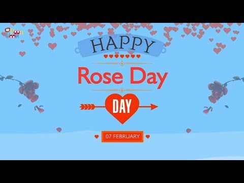 Valentines Week Special - Happy Rose Day | 2D Animation Video | Poon Poon