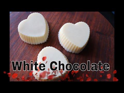 White Chocolate /Homemade White Chocolate recipe.