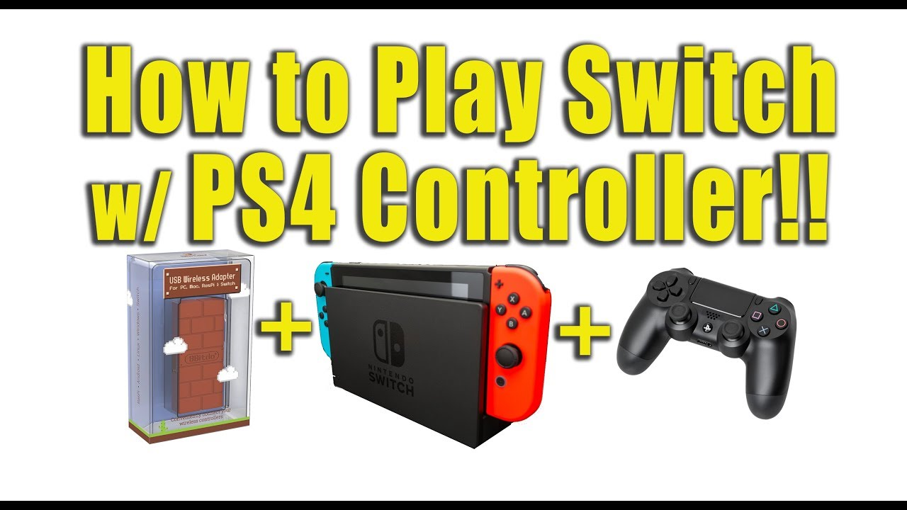 Webby Plays Nintendo Switch with PS4 controller - 8Bitdo Adapter Review