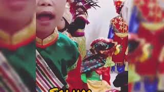 Down Syndrome kid, Traditional Dance