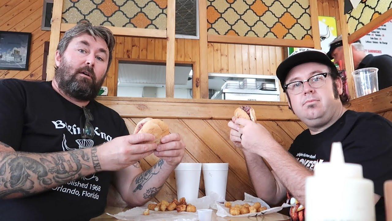 Beefy King Food Review - Best Roast Beef Sandwich in Orlando / 53 Year Old Milk District Restaurant