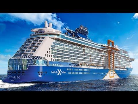 CELEBRITY EDGE Cruise Ship Tour 4K