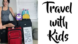 #1 Packing Hack for Moms | vlog | International Travel with Kids Video