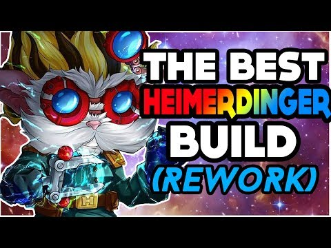 HEIMERDINGER REWORK - THE BEST BUILD! HEIMERDINGER BUILD GUIDE - League Of Legends