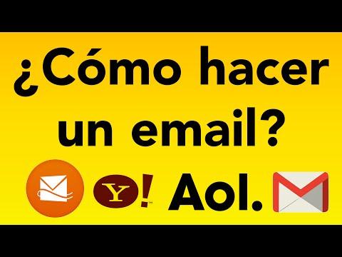 ¿Como Hacer Un Email?