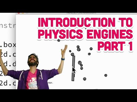 5 0a: Introduction to Physics Engines Part 1 - The Nature of Code