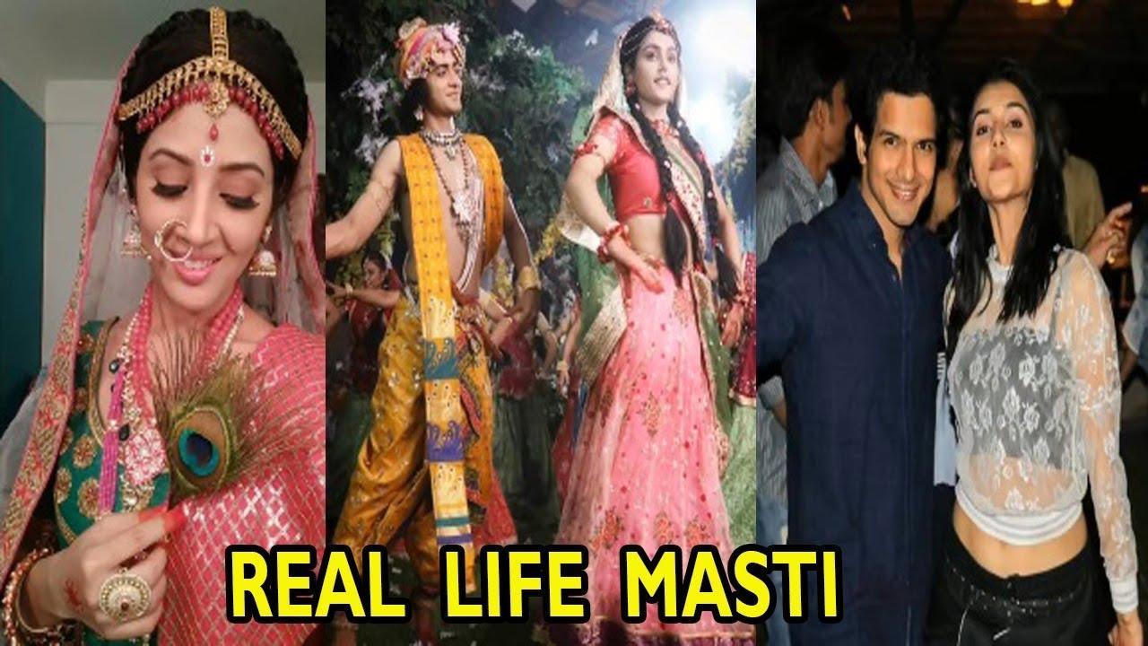 Radha Krishn Serial Actors Latest Real Life Masti | Sumedh Mudgalkar