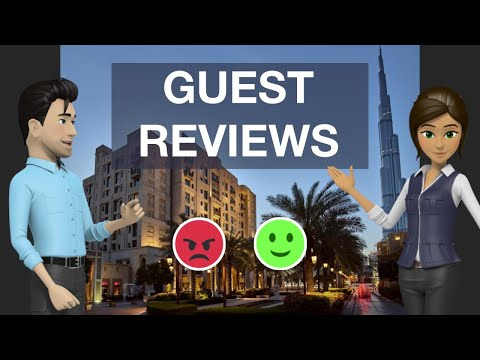 Manzil Downtown 4 ⭐⭐⭐⭐| Reviews Real Guests. Real Opinions. Dubai, UAE