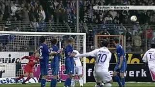 The best free kick goal