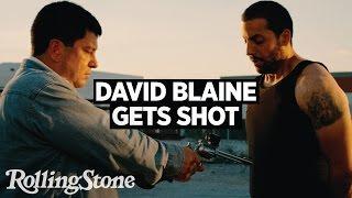 David Blaine Gets Shot While Preparing for Bullet Catch