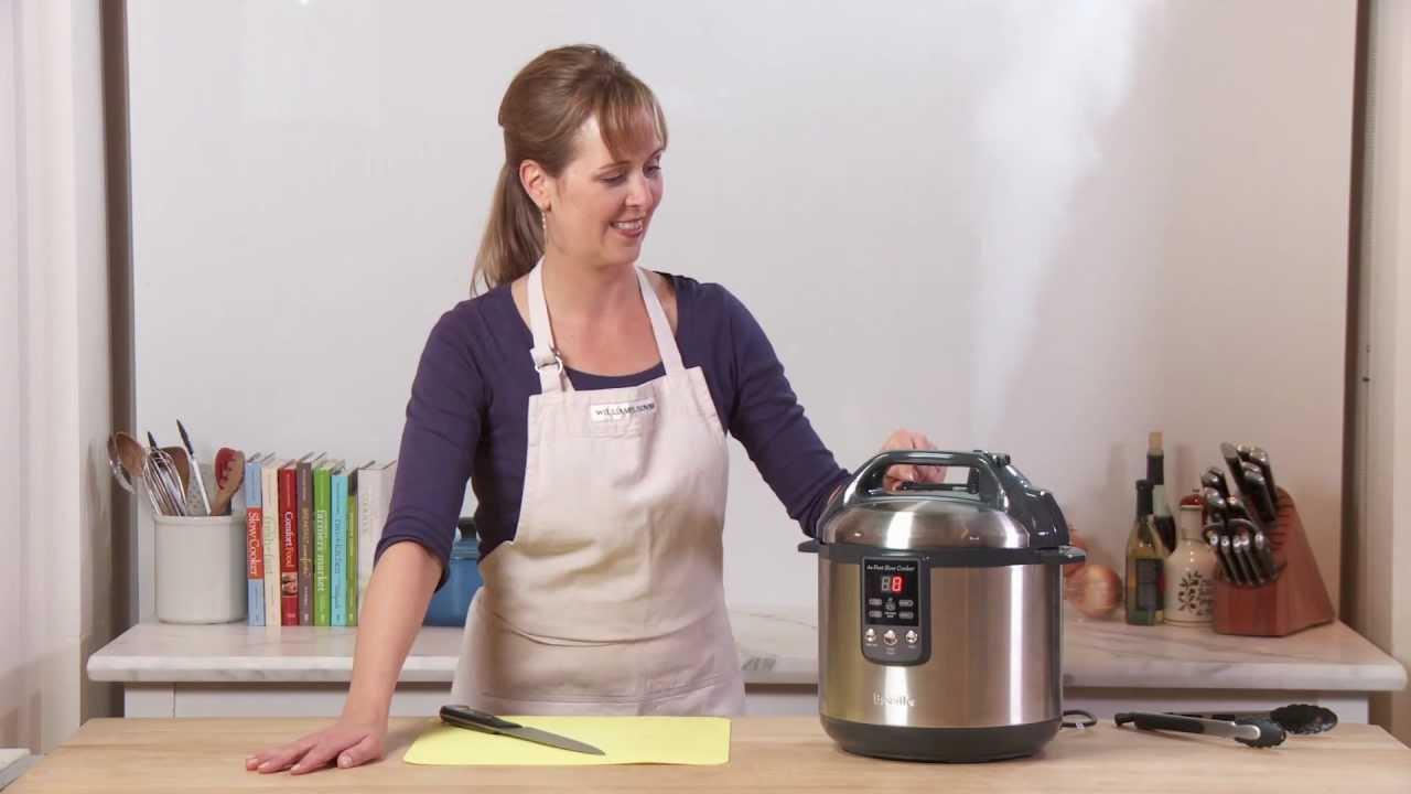 Breville Fast Slow Cooker | Williams-Sonoma