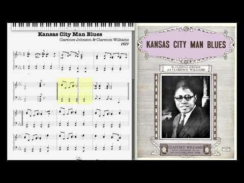 Kansas City Man Blues by Clarence Johnson & Clarence Willams (1923)