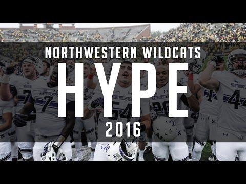 Northwestern Wildcats College Football Hype 2016 ᴴᴰ