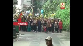 Darjeeling: GJJM again take street, supporters rally in various location, administration o