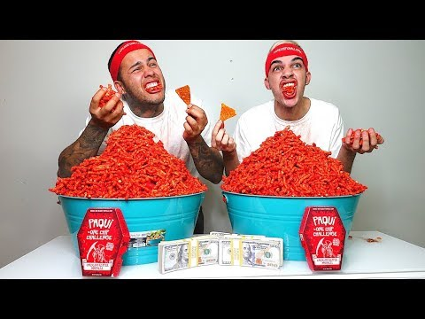Download Youtube: HOT CHEETOS CHALLENGE!!! ($10,000 CASH BET)