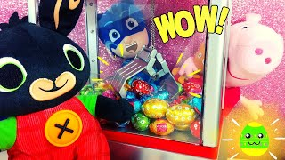 Bing, Peppa Pig e Gattoboy acchiappano gli ovetti di cioccolato!🐣🍫 [Video per bambini]