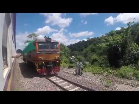 ข.51 รถด่วนเชียงใหม่ Express train to Chiang Mai [Full HD]
