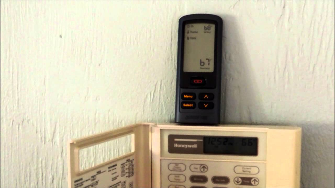 rc300 remote thermostat issues youtube