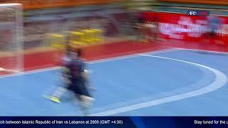 M15 - Thailand vs Afghanistan - AFC U-20 Futsal Championship - IR Iran 2019