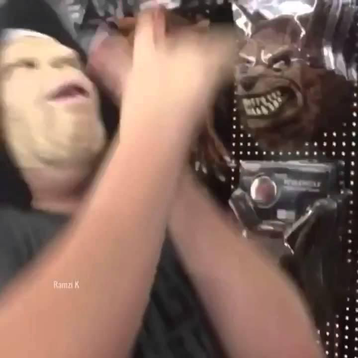 Halloween deep throat