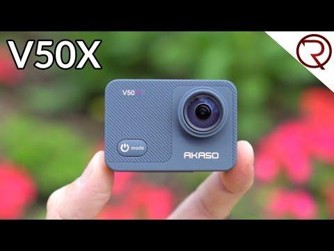 Akaso V50X Review & Sample Videos - Best Akaso Action Camera Yet!