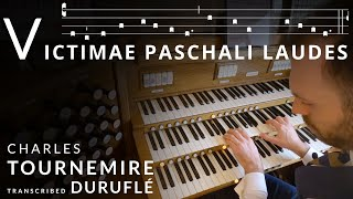 🎵 This is my FAVOURITE piece of Easter Organ Music - it's INCREDIBLE // Tournemire Victimae paschali
