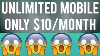 Unreal Mobile Review | Unlimited Talk, Text, and Data for $10 A MONTH