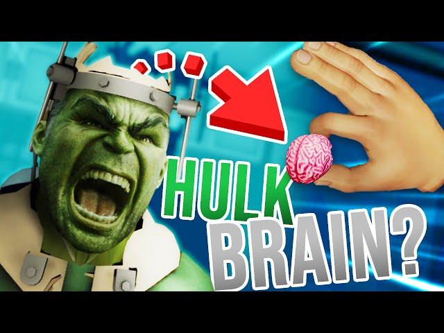 Stealing THE HULK'S BRAIN to SAVE HIS LIFE!!?! (Surgeon Simulator VR)