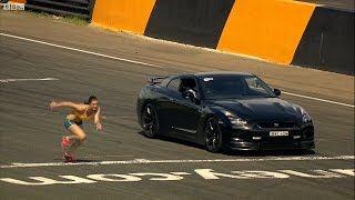 Download Nissan GTR vs Kobieta - Lektor - Top Gear Festiwal Sydney - BBC Brit Polska Mp3 and Videos