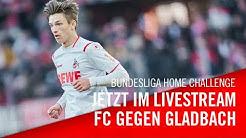 Livestream: 1. FC Köln - Borussia Mönchengladbach | Bundesliga Home Challenge