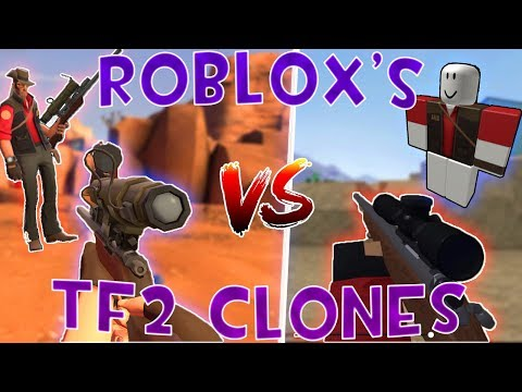 TF2 But It's Actually A Roblox Spin-Off (TF2 Roblox Edition)