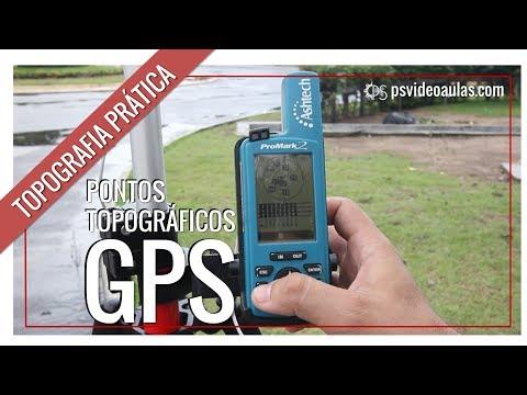ENGENHARIA - TOPOGRAFIA PRÁTICA - GPS - PONTOS TOPOGRÁFICOS