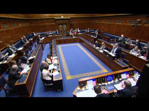 Question Time: Office of the First Minister and deputy First Minister Monday 16 February 2015