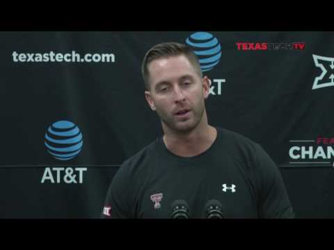 Weekly Monday Press Conference: Kliff Kingsbury