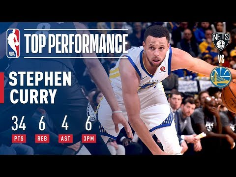 Chef Curry Was Cookin vs The Brooklyn Nets