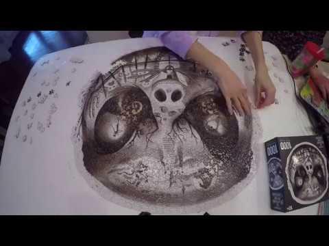 Tim Burton's The Nightmare Before Christmas Puzzle - YouTube