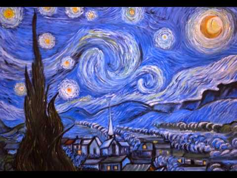 Notte stellata vincent van gogh copia d 39 autore youtube for Van gogh notte