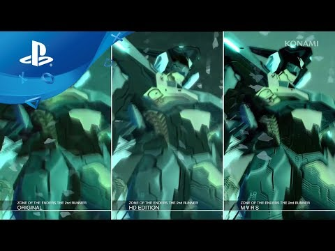 Zone of the Enders: The 2nd Runner - MARS Comparison Trailer [PS4]