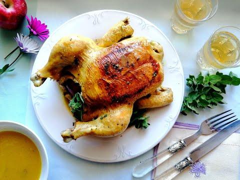 Κοτόπουλο κατσαρόλας με μηλίτη- Mamatsita