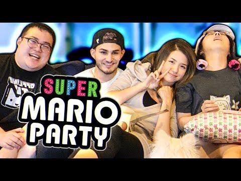 OFFLINETV PLAYS SUPER MARIO PARTY ft. Pokimane, Scarra, LilyPichu & Fedmyster Part #1