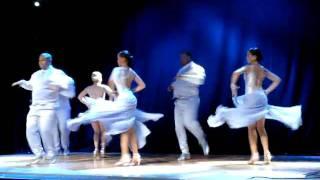 Salsa Performance - Santo Rico Dance Company at Hot Salsa Weekend 2010