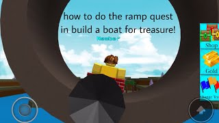 Find me quest build a boat