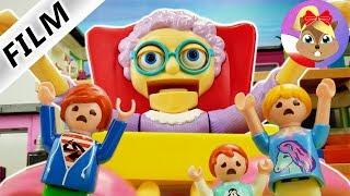 Playmobil Rodzina Wróblewskich | Przybycie strasznej niani | Czy uda im się wyjść?