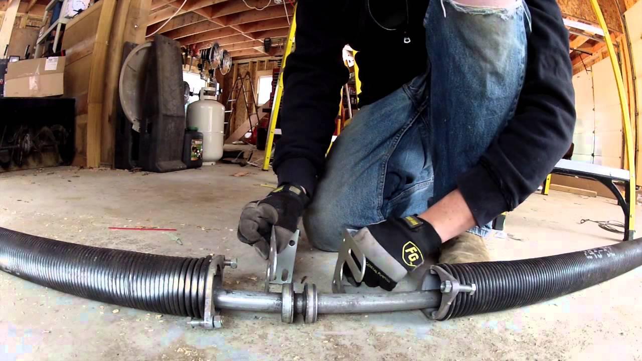 Installing a High Lift Garage Door Kit - 85 - My DIY ...