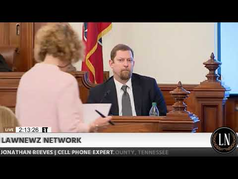 Holly Bobo Murder Trial Day 9 Part 2 Jonathan Reeves Testifies 09/20/17