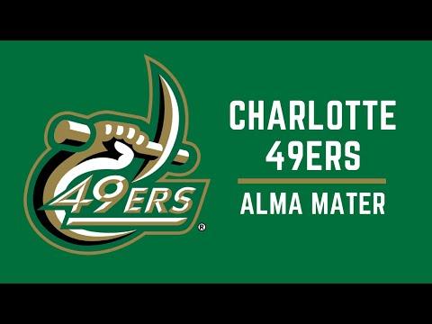 UNC Charlotte Alma Mater [lyric video]