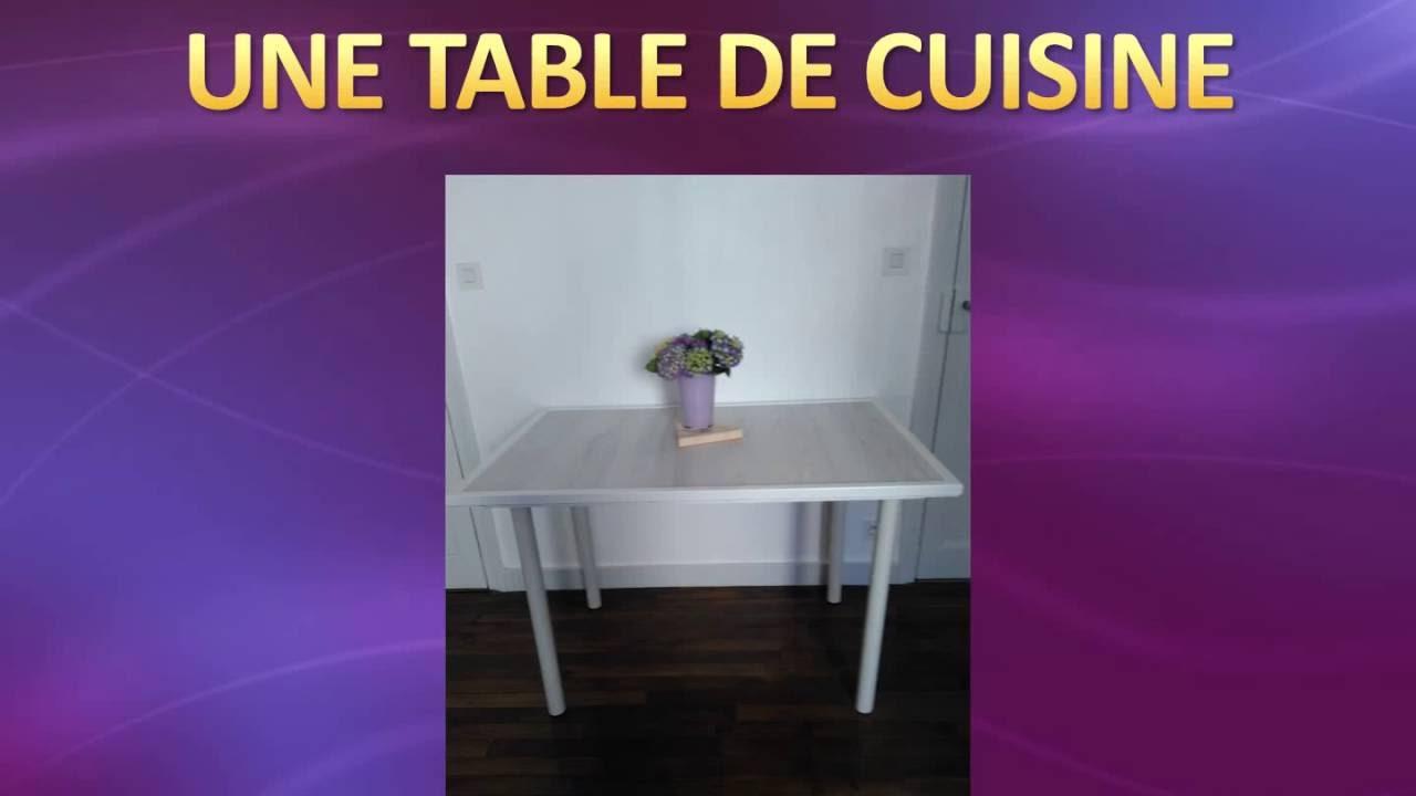 Fabriquer Table Haute Cuisine Perfect Beau Fabriquer Une