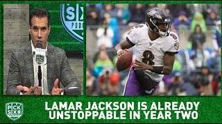 Lamar Jackson will be BEST NFL player in 2-3 years | Pick Six Podcast