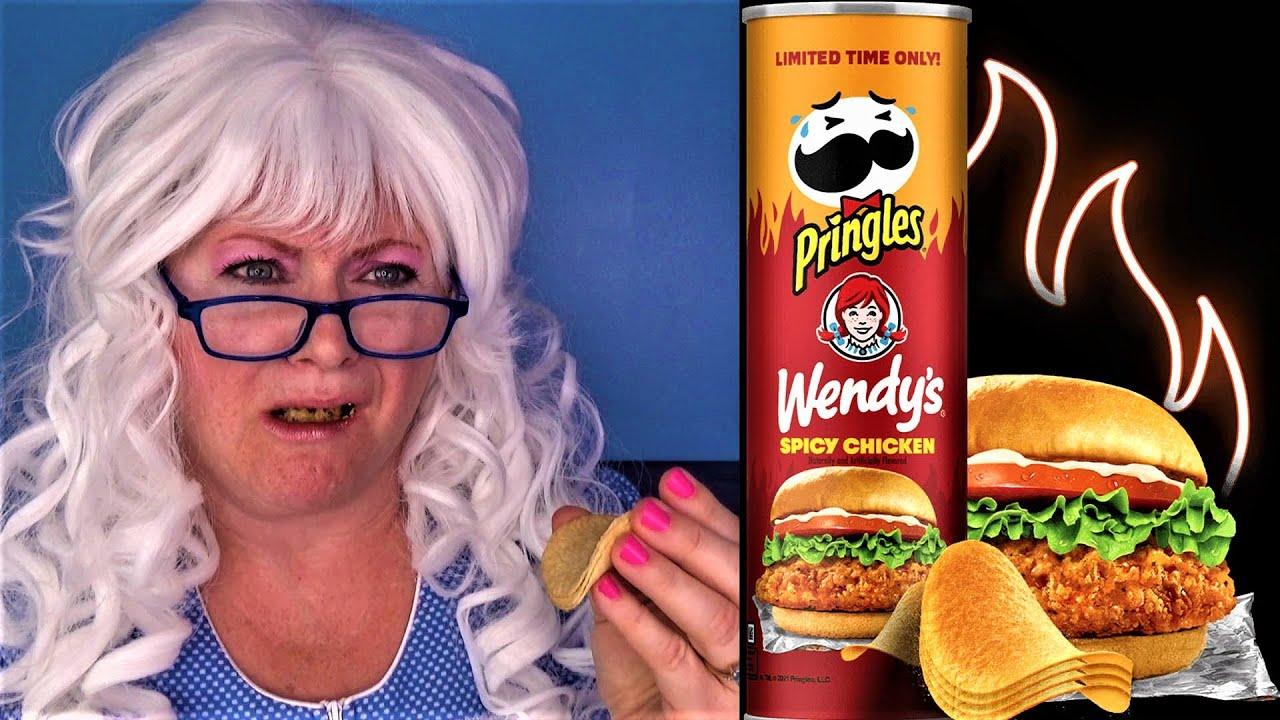 Wendy's Spicy Chicken PRINGLES Pizza Ranch Pineapple Habanero Challenge Granny McDonalds