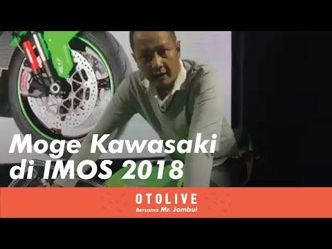 Moge Kawasaki di IMOS 2018